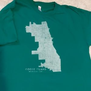 Goose Island Brewery Chicago Beer XL T-Shirt